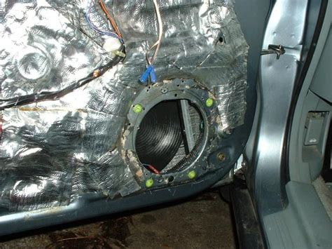 sound deadening interior door proper door sound deadening and you