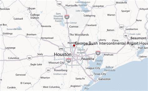 map of george bush intercontinental airport houston texas gu 237 a urbano de george bush intercontinental airport houston