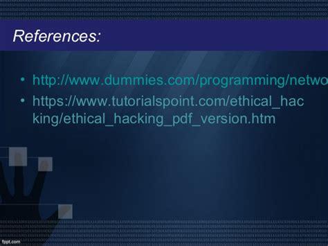Tutorialspoint Ethical Hacking Pdf | tutorialspoint hacking ethical hacking powerpoint