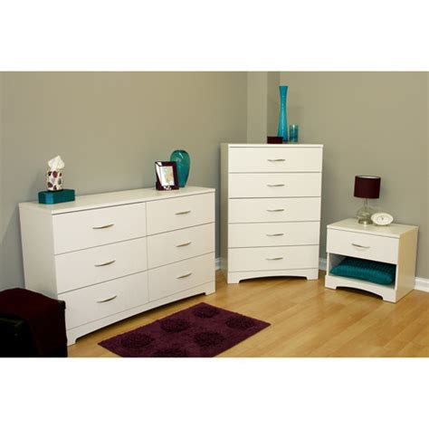 south shore soho 3 dresser and nightstand set
