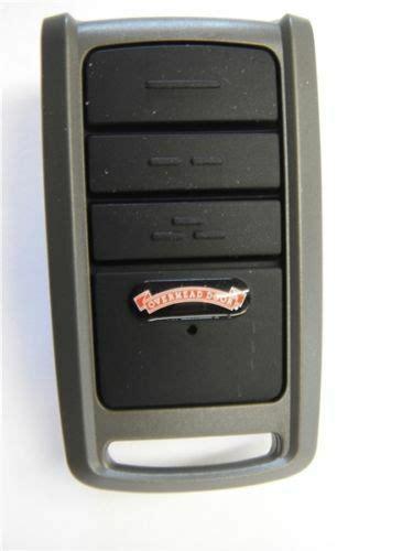 overhead door garage door opener remote o3t bx 37219r ebay