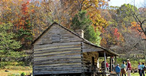 Blue Mountains Log Cabins by Colonial Quills A 1700s Log Cabin In Virginia S Blue