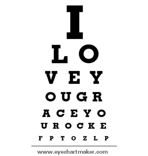 free printable eye chart maker 108 best images about kids pretend printable on pinterest