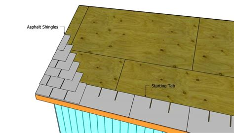 Asphalt Shed Roof by How To Build A Roof For A 12x16 Shed Howtospecialist
