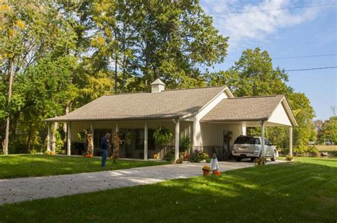 houses with carports superb metal building home w carport porch hq pictures