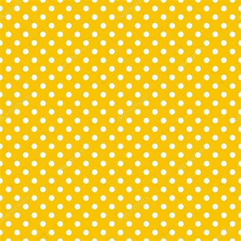 yellow polka dot with orange background stock illustration