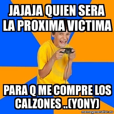 Kid Gamer Meme - meme annoying gamer kid jajaja quien sera la proxima