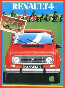Renault Brochures 1983 Renault 4 Brochure German
