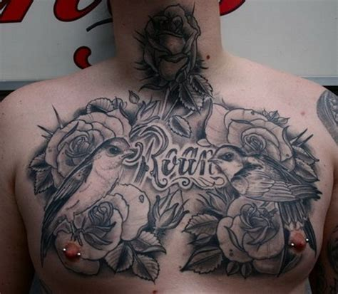 men chest tattoo designs 40 chest designs for
