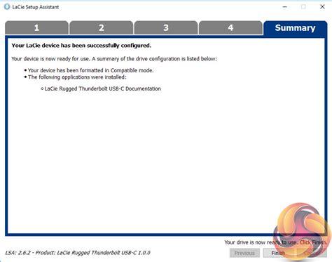 format lacie exfat lacie rugged thunderbolt usb c 2tb review kitguru part 2