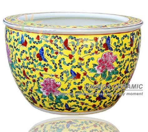 Large Ceramic Planters Wholesale by Wholesale Large Chinease Famille Ceramic Plant Pots