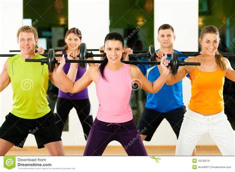 Barbel Fitness fitness with barbell in royalty free stock images image 18730579