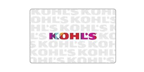 printable gift cards for kohls kohls gift cards at walmart mega deals and coupons