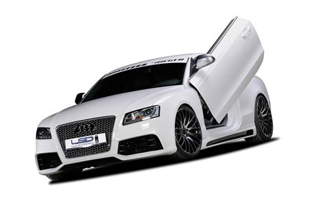 Audi A5 Wing by Gull Wing Door Plates For Audi A5 And S5