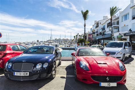 porto banus luxury in marbella and ban 250 s is within striking