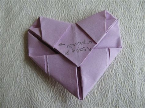 Fold Paper Hearts - origami 183 how to fold an origami shape 183 origami and