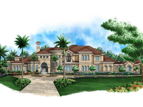 2 Story Mediterranean House Plans by Mediterranean Home Plans Two Story Mediterranean House