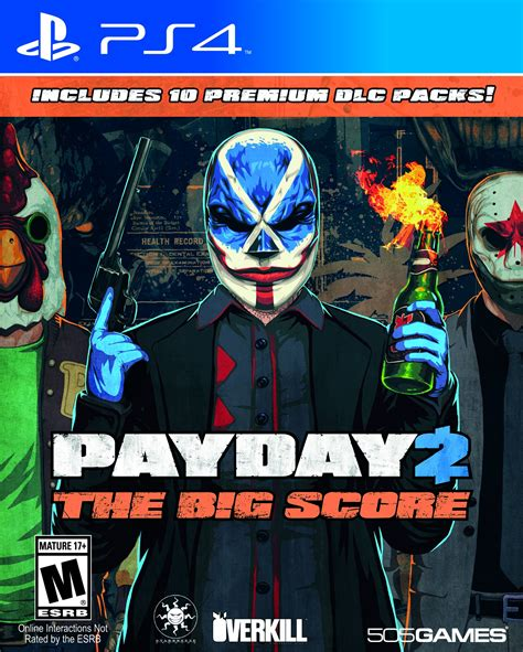 payday 2 the big score release date xbox one ps4