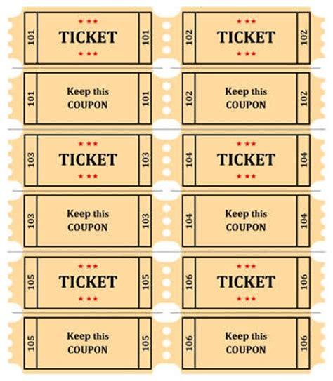 8 raffle ticket template word sales report template