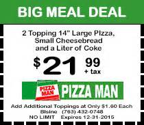 haircut coupons eagan mn pizza man in blaine minnesota makes pizza with fresh