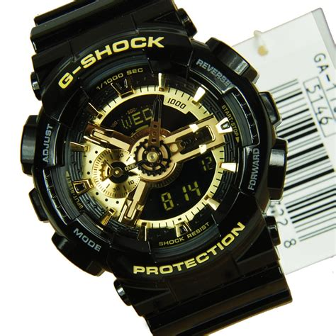 G Shock Gshock Gg 1100 Black Gold casio g shock master of g vintage black gold mudmaster