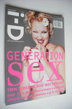 Drew Barrymore On March Cover Of by I D Magazine Back Issues Magazines For Sale Page 5