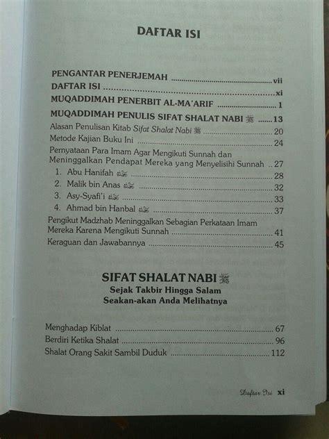 Buku Misteri Dan Keagungan Shalat buku sifat shalat nabi edisi lengkap 3 jilid