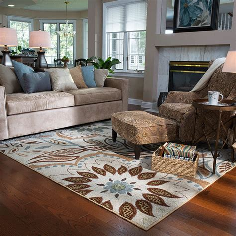 Living Room With Area Rug How To Rug Size For Living Room 2017 2018 Best Cars Reviews