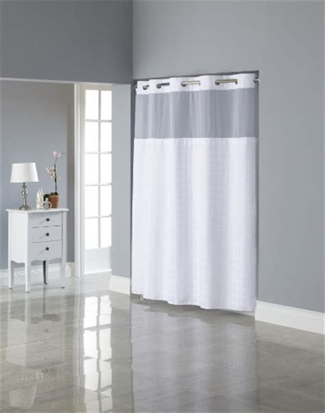 snap in shower curtain liner hookless square tile jacquard shower curtain with snap in