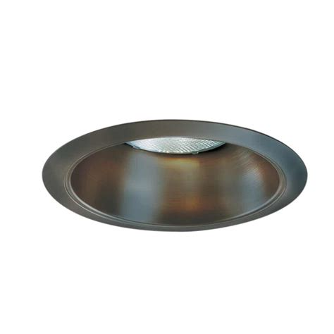 Ceiling Light Reflector Halo 426 Series 6 In Tuscan Bronze Recessed Ceiling Light Reflector Cone Trim 426tbz The Home