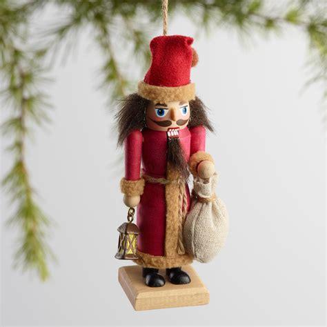 nutcracker ornaments wood alpine nutcracker ornaments set of 3 world market