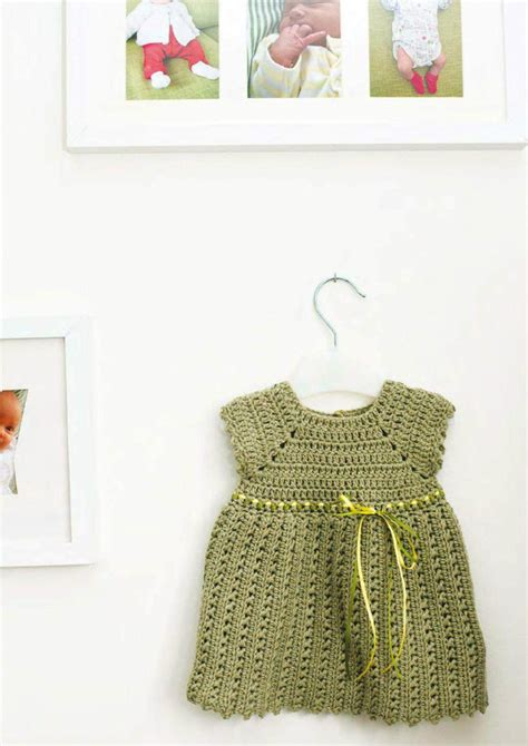 pattern free dress baby girl pinafore dress free crochet pattern crochet