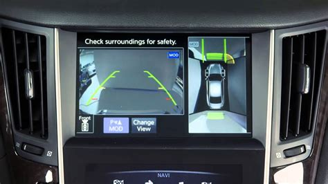 Infiniti Q50 Software Update by 2014 Infiniti Q50 Back Up Collision Intervention System