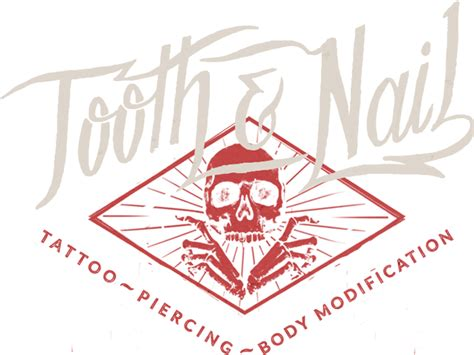 tooth and nail tattoo tooth and nail