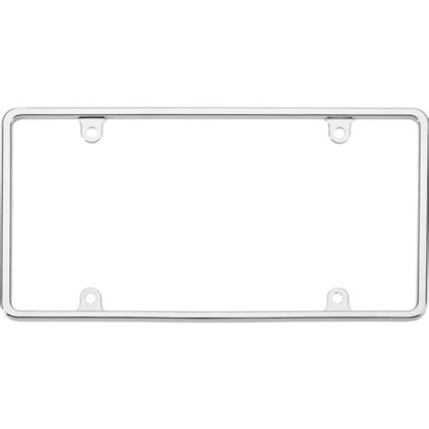 blank phlet template license plate template for clipart best