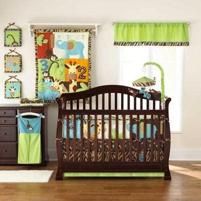 Giraffe Nursery Bedding Set Jungle Monkey Unisex Animal Giraffe 5pc Neutral Zoo Nursery Crib Bedding Set Baby