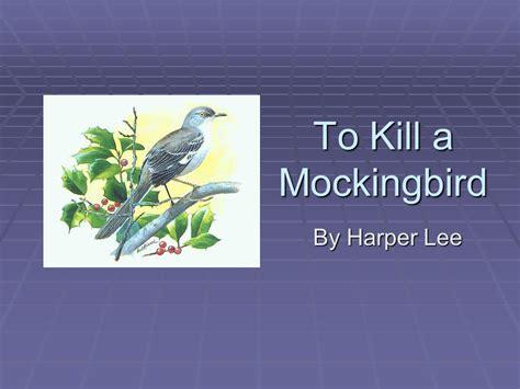 to kill a mockingbird literary themes to kill a mockingbird presentation english literature
