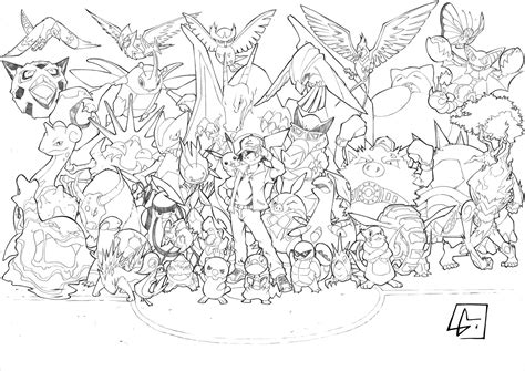 All Pokemon Coloring Pages Wallpaper Download All Colouring Pages