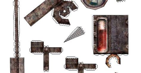 Fallout Papercraft - stimpak papercraft pdf and pdo by thedutchyguy