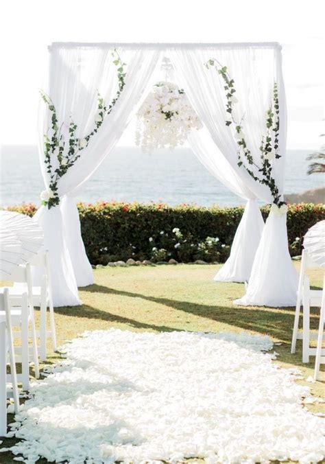 chuppah draping best 25 wedding chuppah ideas on pinterest