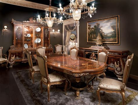 expensive dining room tables inlaid dining room solid wood table in empire style