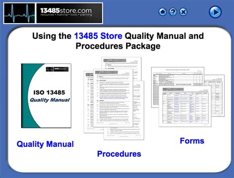 Iso 13485 2016 Quality Manual And Procedures Iso 13485 Store Iso 13485 Templates