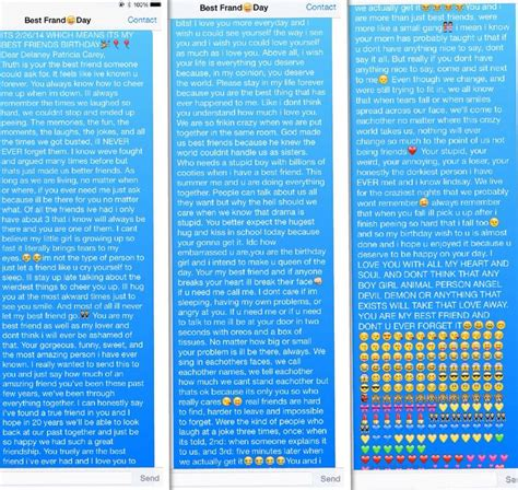 text message to best friend on birthday