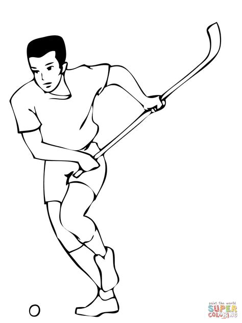 simple hockey coloring pages easy hockey drawing www pixshark com images galleries
