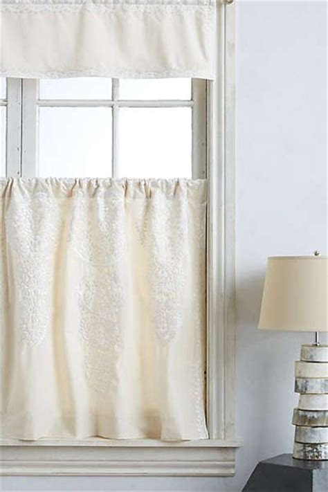 Cafe Curtains Bathroom Window Anthropologie Marrakech Cafe Curtain Smallest Kitchen Pint