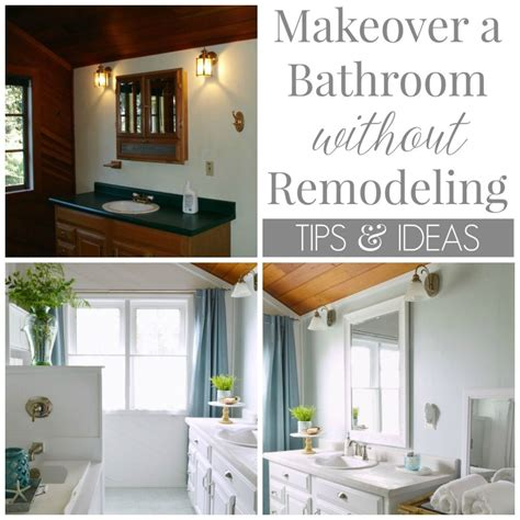 update bathroom without remodeling update bathroom without remodeling 28 images before after big impact on space