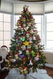 Peacock Bedroom Theme minion christmas tree decorations