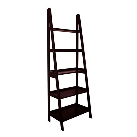 Mintra 5 Tier A Frame Ladder Shelf Ebay A Frame Ladder Bookcase