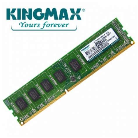 Ram Ddr3 Kingmax Ram Kingmax 4gb Ddr3 1600 Non Ecc