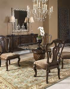 Fairmont Dining Room Sets Rochelle Chestnut 60 Quot Round Dining Room Set From Fairmont